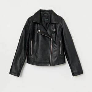 Reserved - Motorkárska bunda - Čierna