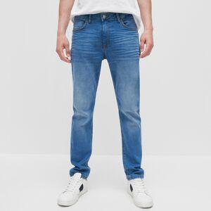 Reserved - Pánske jeans nohavice - Modrá