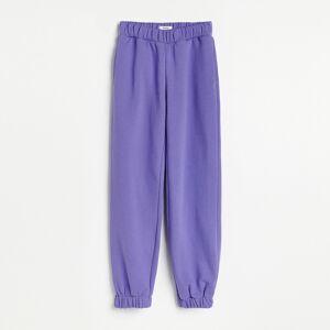 Reserved - Ladies` trousers - Purpurová