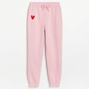 Reserved - Ladies` trousers - Ružová