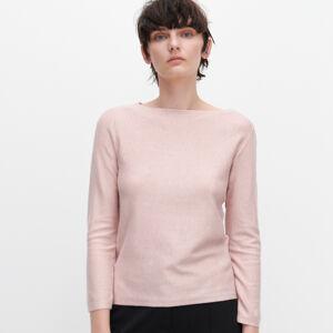 Reserved - Hladký sveter - Ružová
