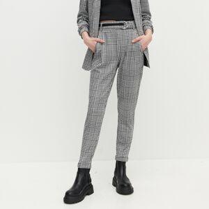 Reserved - Nohavice s vysokým pásom - Viacfarebná