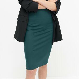 Reserved - Úpletová sukňa - Tyrkysová