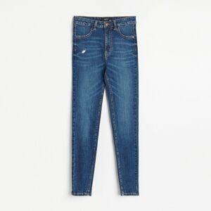 Reserved - Slim džínsy - Modrá