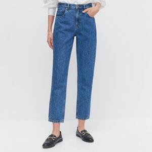 Reserved - Dámske jeans nohavice - Tmavomodrá