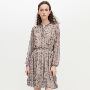 Reserved - Šaty s drobnými kvietkami -