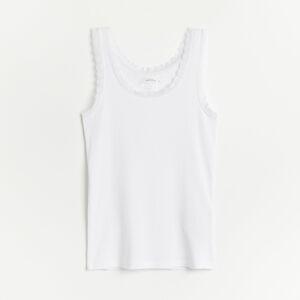 Reserved - Top z organickej bavlny -