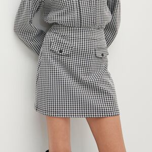 Reserved - Kockovaná gingham sukňa - Viacfarebná
