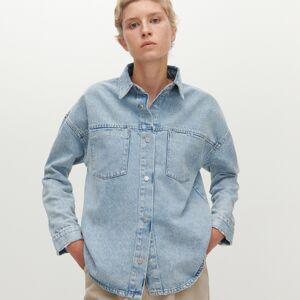 Reserved - Denimová košeľa - Modrá
