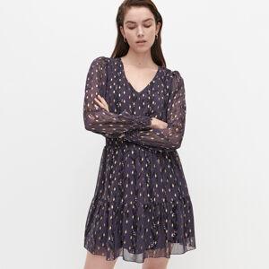 Reserved - Ladies` dress - Purpurová