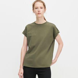 Reserved - Tričko s vreckom - Khaki