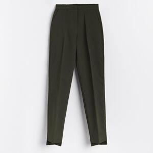 Reserved - Dámske nohavice - Khaki