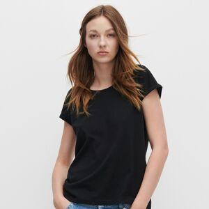Reserved - Basic tričko z organickej bavlny - Čierna