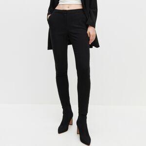 Reserved - Priliehavé nohavice - Čierna