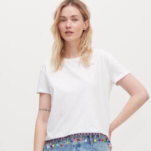 Reserved - Tričko z organickej bavlny - Biela