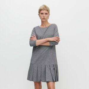 Reserved - Šaty so záhybmi - Viacfarebná