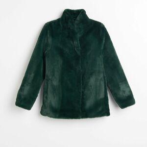 Reserved - Umelý kožuch - Zelená