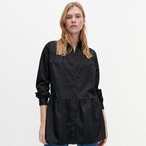 Reserved - Dlhá košeľa - Čierna