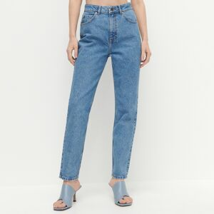 Reserved - LADIES` JEANS TROUSERS - Modrá
