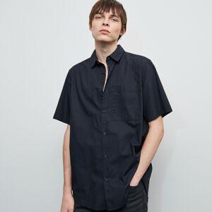 Reserved - Hladká košeľa - Čierna