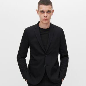 Reserved - Oblekové slim fit sako - Čierna