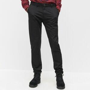 Reserved - Chino nohavice slim - Čierna