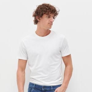 Reserved - Hladké tričko z organickej bavlny - Biela