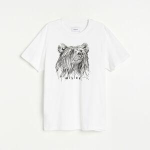 Reserved - Tričko s potlačou - Biela