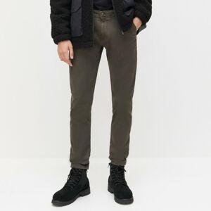 Reserved - Chino nohavice super slim fit - Khaki