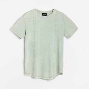 Reserved - Tričko so stehovaním - Zelená