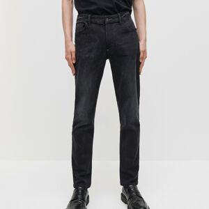 Reserved - Denimové džínsy comfort - Čierna