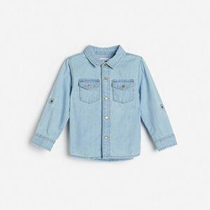 Reserved - Chlapčenská košeľa - Modrá