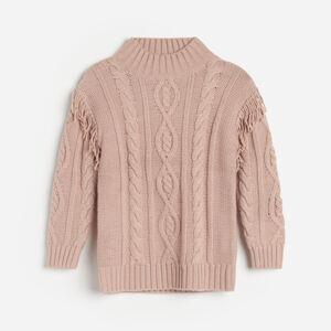 Reserved - Dievčenský sveter - Ružová