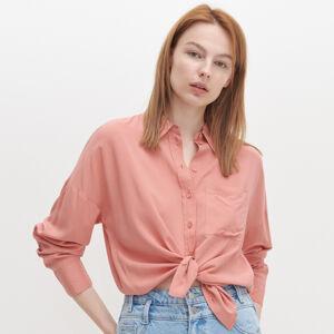 Reserved - Oversize košeľa - Ružová
