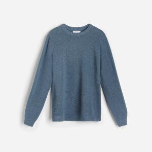Reserved - Sveter sorganickej bavlny - Modrá