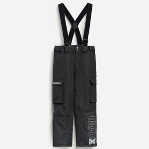 Reserved - Nohavice na traky - Čierna