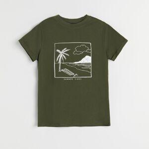 Reserved - Dámske tričko - Khaki