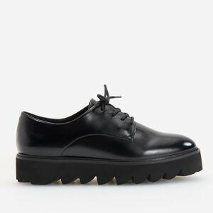 Reserved - Topánky na hrubej podrážke - Čierna