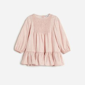 Reserved - Vzorovaná košeľa z materiálu EcoVero™ - Ružová