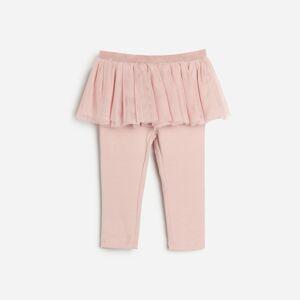 Reserved - Nohavice s tutu sukňou - Ružová
