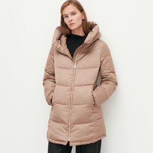 Reserved - Zateplený prešívaný kabát - Béžová