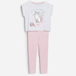 Reserved - Dievčenske pyžamo - Svetlošedá