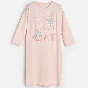 Reserved - Bavlnená nočná košeľa s potlačou -