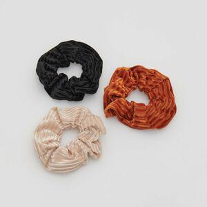 Reserved - Sada gumičiek do vlasov - Oranžová