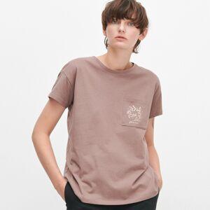 Reserved - Bavlnené tričko s vreckom -