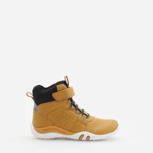 Reserved - Turistické topánky s reflexnými vsadkami - Žltá