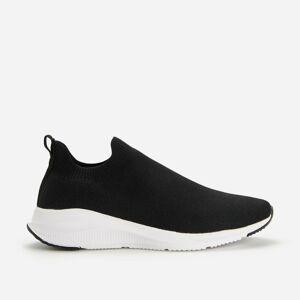 Reserved - Topánky typu slip-on - Čierna