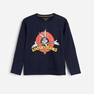 Reserved - Tričko s dlhými rukávmi Bugs Bunny - Tmavomodrá