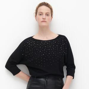 Reserved - Ladies` sweater - Čierna