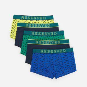 Reserved - Súprava 5 bavlnených boxeriek -